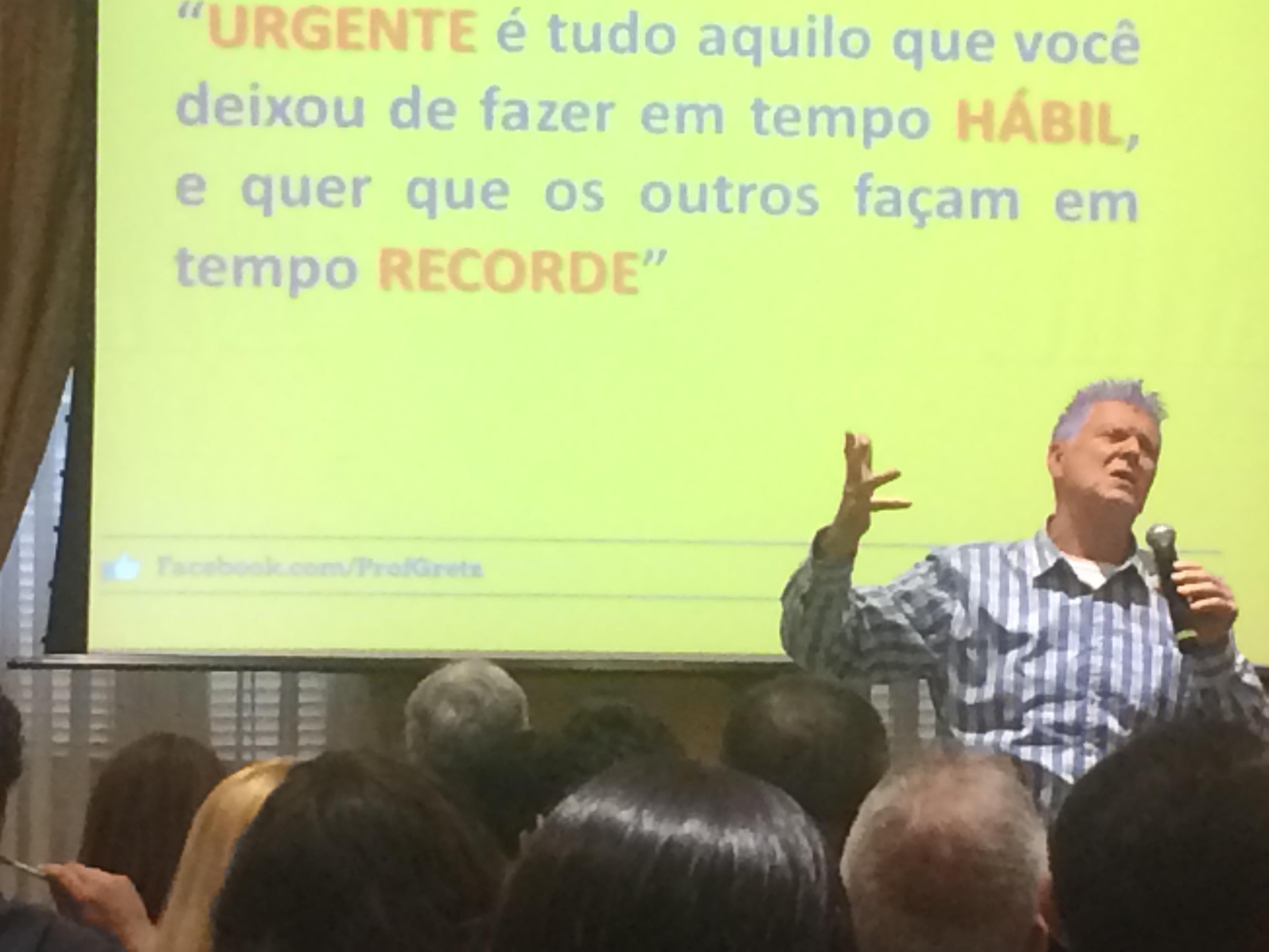 Palestra No Rio De Janeiro Prof Gretz