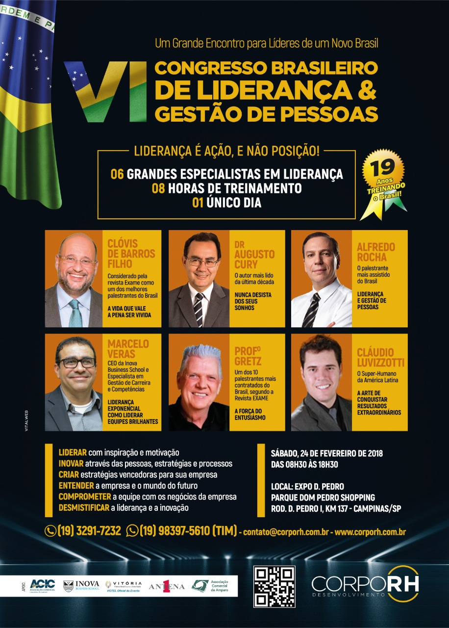 Vi Congresso Brasileiro De Liderança E Gestão De Pessoas